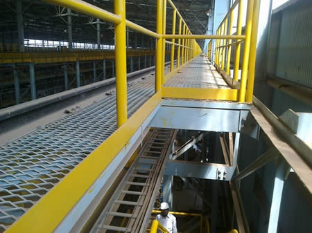 Expanded Metal Grating Standard Type For Anti Skid